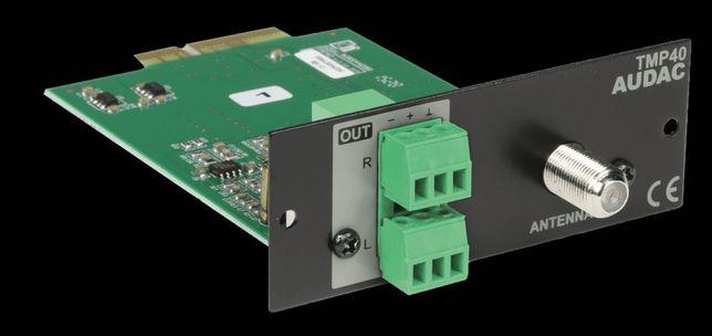 Modul tuner FM audio player Audac TMP40 - SourceCon™