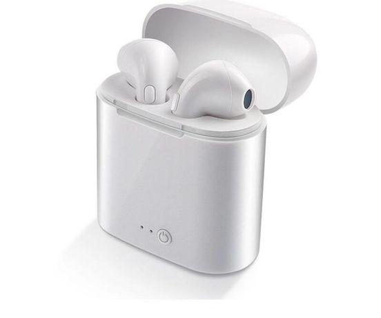 Безжични Stereo Wireless Слушалки I7S/ I 12 TWS Airpods Внос от Англия
