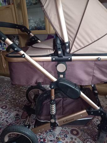 Продам коляску зима-лето 3 в 1 трансформер.