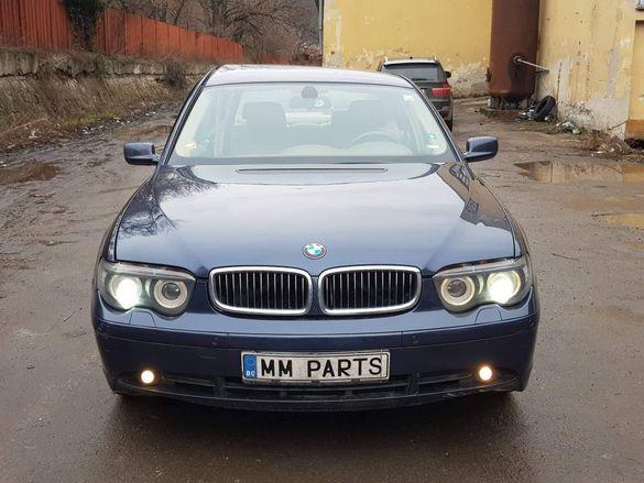 BMW E65 730D 218кс Dynamic bixenon автоматик НА ЧАСТИ!