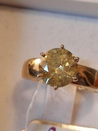 Vand inel diamant 2,1ct
