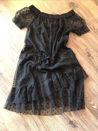 Черна рокля Denny Rose