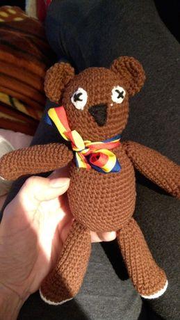 Ursuletul lui Mr. Bean - Teddy - jucarie cadou crosetata - amigurumi