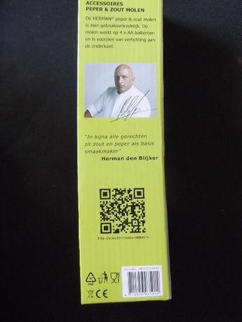 Rasnita de piper Electrica /Hermann / inox mat/ sigilata cutie