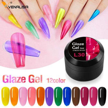Venalisa Uv&Led Glaze Gel / Гел стъклен ефект