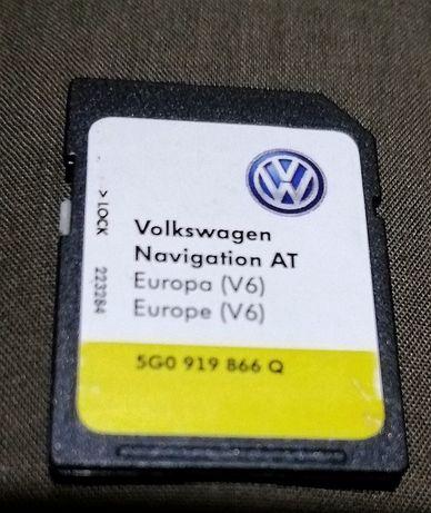 Card hărți vw Audi