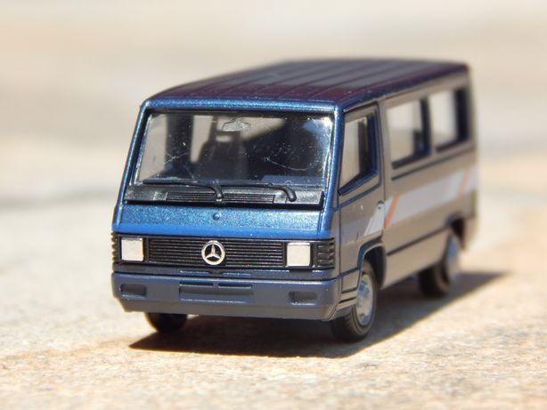 Macheta microbuz Mercedes-Benz 100D 1:87 Herpa fab Germania Vest