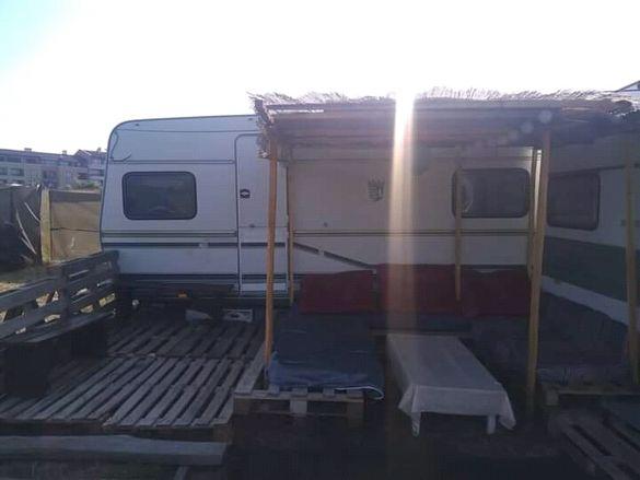 Терен под наем на плажа/морето за поставяне на каравана/кемпер/палатка