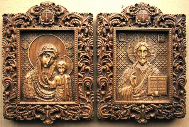 Icoane Iconite sculptate lemn masiv