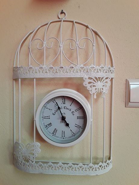 Ceas Shabby Chic, model colivie