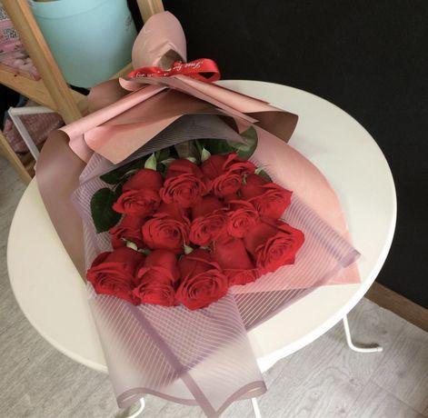 Розы Алматы Доставка, цветы, букеты, пионы!