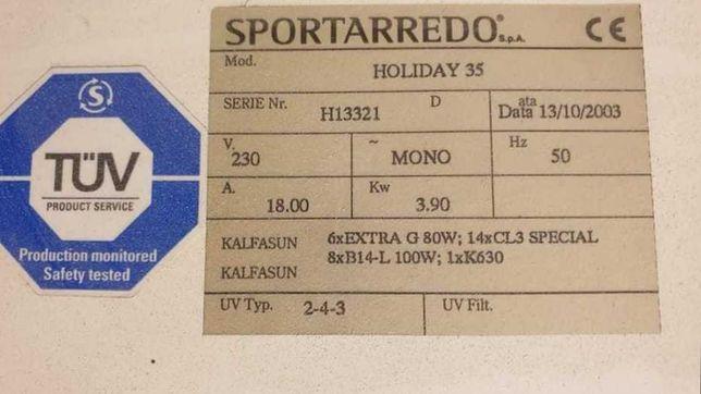 Solar, aparat de bronzat Sportarredo Holiday 35 2003