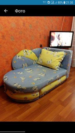 Детская кровать диван угловой
