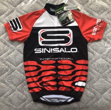 НОВА!!! Sinisalo Motocross/Moto Racer/Bike Racer Jersey мото блуза/р.М