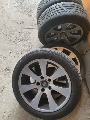 Jante BMW r17 225/55/17 anvelope de iarna continental