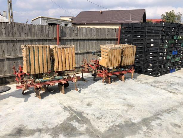 Masina de plantat/plantatoare cartofi Rau Kombi pe doua randuri