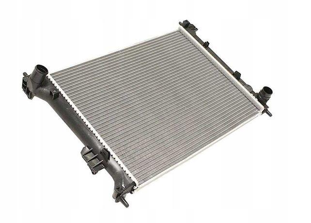 Радиатор охлаждения Hyundai Solaris, Accent, Kia Rio МКПП