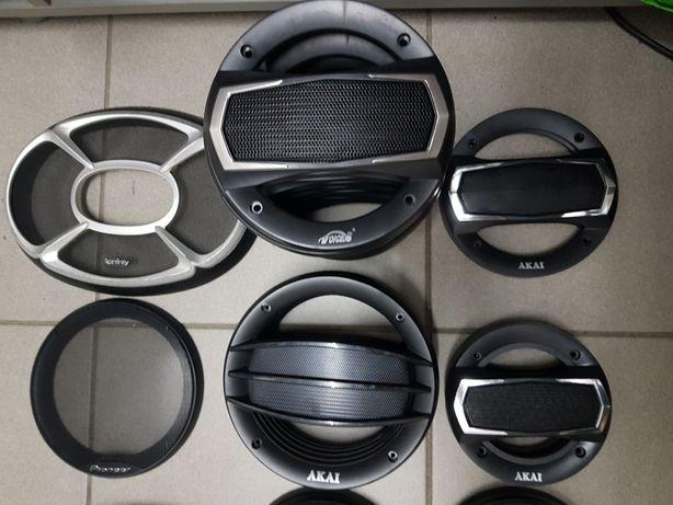 Gratare boxe difuzoare auto grile 10 13 16 si 17 cm noi Sony JVC etc