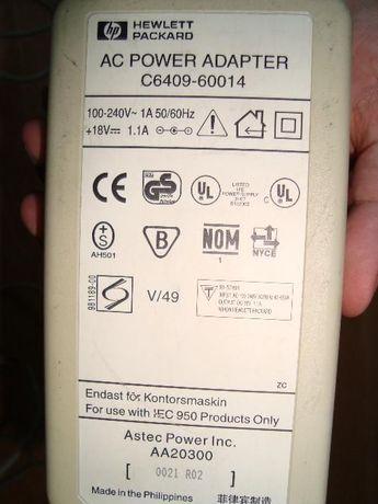 Adaptor curent Hewlett Packard original AC Power Adapter C6409-60014