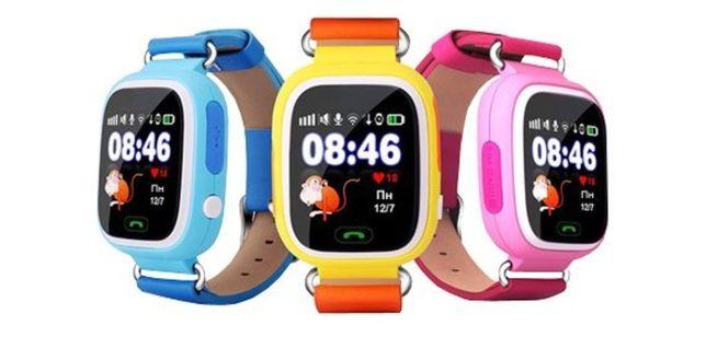 Смарт-часы детские умные Q90 оригинальные! Умные детские фитнес,трек