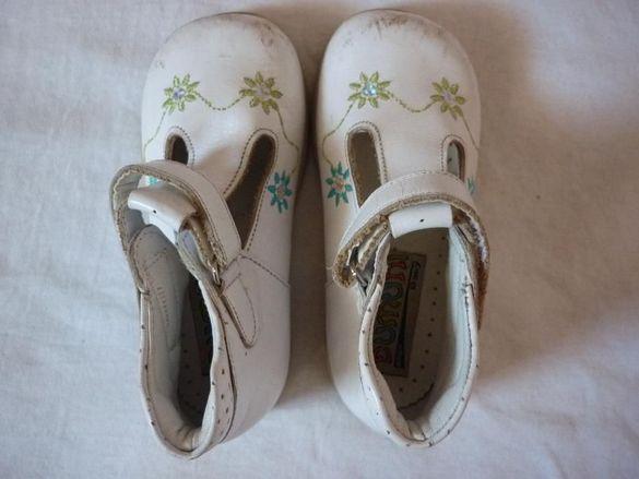 Детски сандали от естествена кожа за момиче
