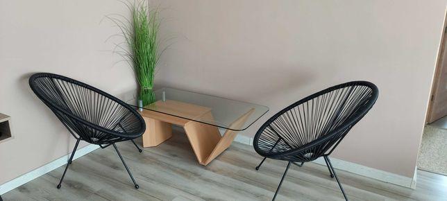 Masa din sticla si pal pentru cafea 120 x 60 cm