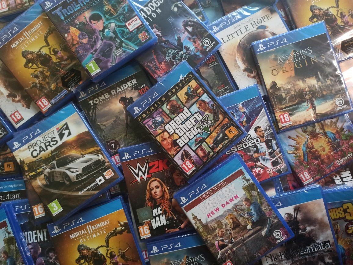 ЧИСТО НОВИ! Игри за PS4 - PlayStation 4 Games ! Най-Добри цени!