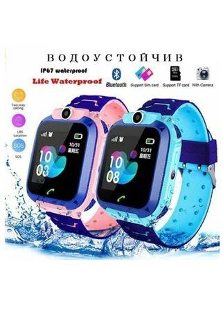 Детски Смарт часовник телефон Q12, GPS, със Сим карта, Водоустойчив