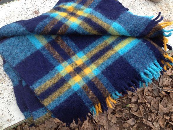 Одеяло,пано -160х100 - 100% вълна тепана