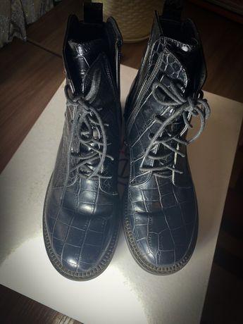 Ботинки под змею (демесезон)
