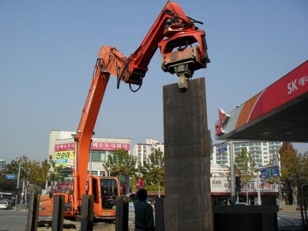Вибропогружатель Daedong DPD600T.Для экскаваторов от 29-40 тонн.