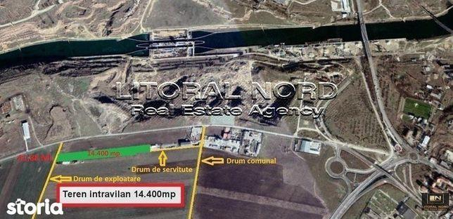 Ovidiu,teren intravilan 14.400 mp,activitati industriale si comerciale