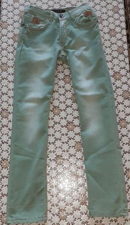 Детски зелени дънки