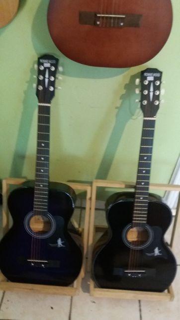 Акустические гитары, аксессуары! Струны, кападастры и подставки!