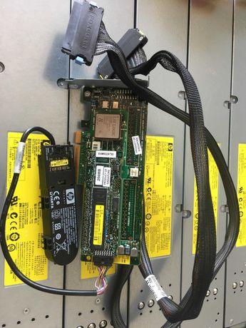 HP Smart Array P400 SAS Controller 256mb ram + baterie + 2 cabluri