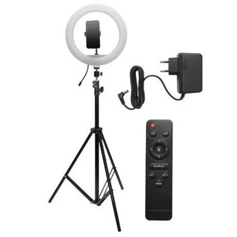 Професионална LED ринг Селфи лампа 32см за снимки и видео TicToc