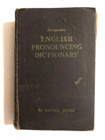 Carte veche rară English Pronouncing Dictionary, Daniel Jones, 1958
