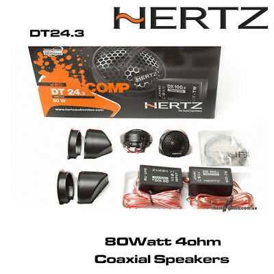 Set doua tweetere auto Hertz DT24.3