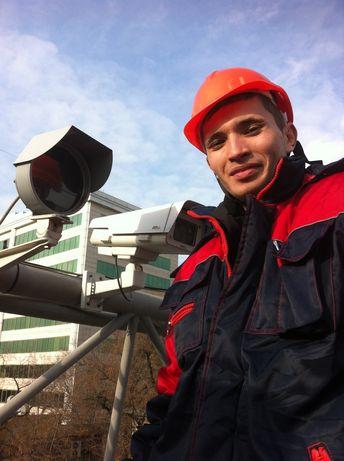 Установка продажа настройка ремонт камер и систем видеонаблюдения