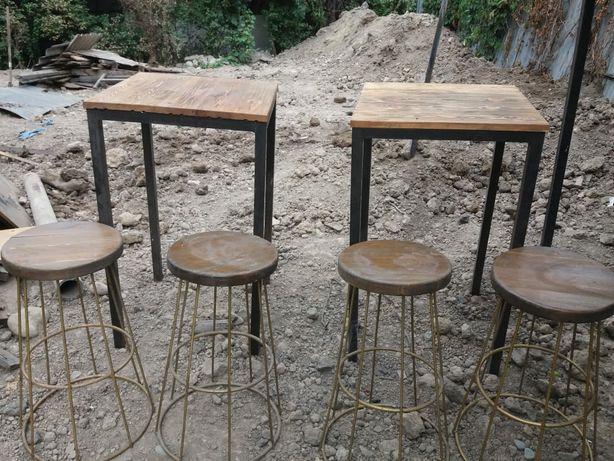 Барные столы со стульями