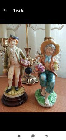 Винтажные фарфоровые статуэтки