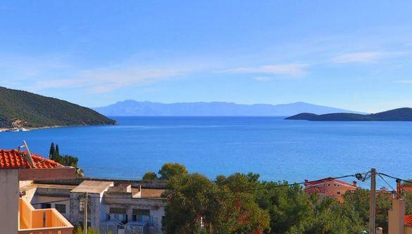 Мезонет Деметра,12 човека,панорамна гледка, Неа Перамос,Кавала, Гърция