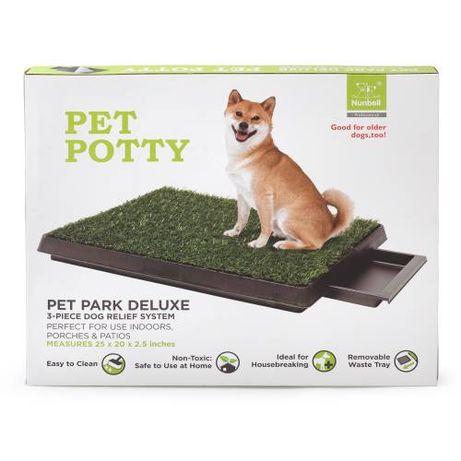 Pet Potty кучешка тоалетна с отделение за течности