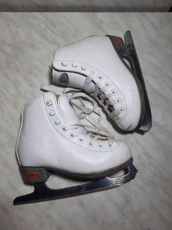 Patine gheata 203 patinaj artistic Riedell profesionale marime 28-29