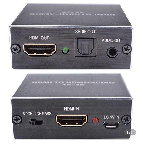 Mini HDMI Audio Spliter 2.1 ; 5.1