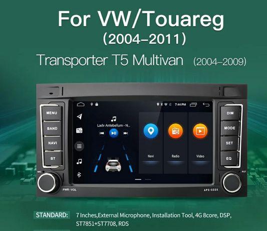 Мултимедия Фолксваген Туарег андроид 10 VW Touareg Android 10