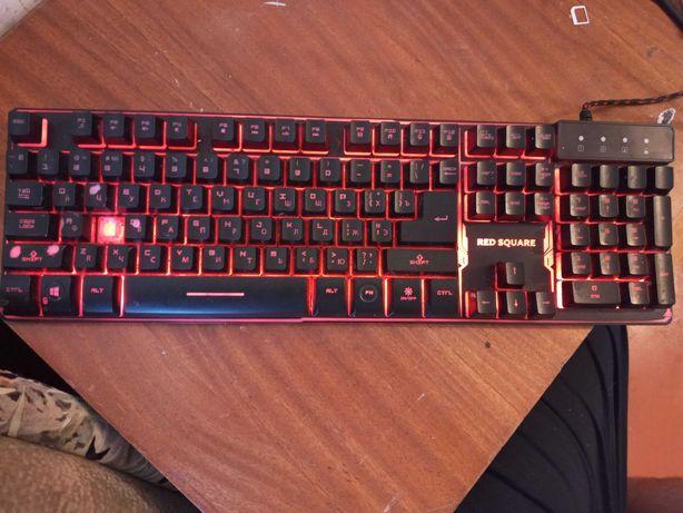 Игровая клавиатура RED SQUARE TESLA (RSQ-20002) писать в ватцап
