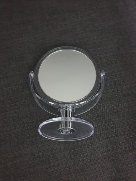 Oglinda machiaj cu picior. 2 fete. Are amplificare.