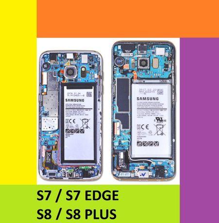 Skin Samsung S7, S7 Edge, S8, S8 Plus+, S9, S9+ -folie spate / capac