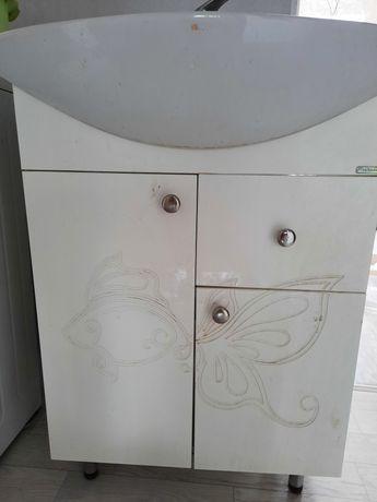 Раковина шкаф зеркала